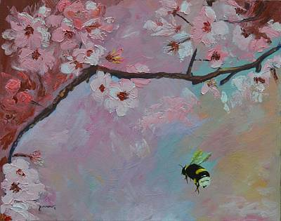 Painting - Oriental Cherry by Sue Furrow