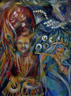 Oriental Fairy Tale.part Two Art Print by Anna  Duyunova