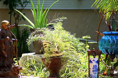 Photograph - Oriental Garden  by Rafael Salazar