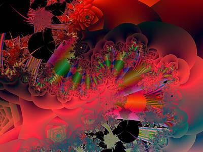Digital Art - Oriental Inspired by Ann Peck