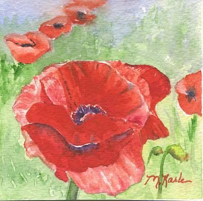 Painting - Oriental Poppy by Marsha Karle
