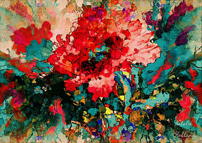 Painting - Oriental Poppy by Natalie Holland