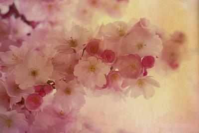 Oriental Romantic Blossoms Art Print by Georgiana Romanovna