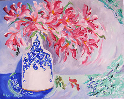 Painting - Oriental Spring by Lisa Boyd