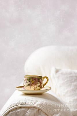 Oriental Teacup And Saucer Art Print
