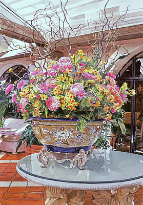 Oriental Urn - Hotel Biltmore Original