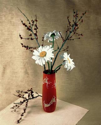 Pastel - Oriental Zen by Georgiana Romanovna