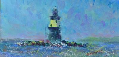 Painting - Orient's Battle by Laurie Samara-Schlageter