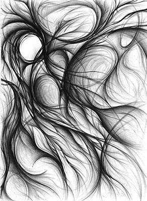 Drawing - Origin by Michael Morgan