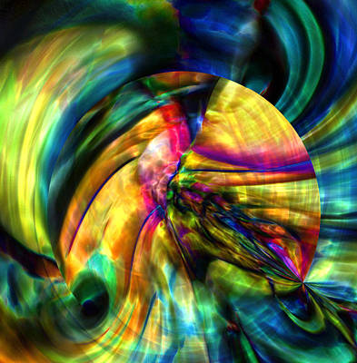 Digital Art - Origin Of Dreams by Richard Thomas