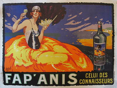 Original 1935 Fap'anis Advertisement By Delval Original by Delval
