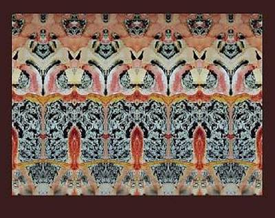 Mohammad Safavi Naini Painting - Original Abstract 3 by Mohammad Safavi naini