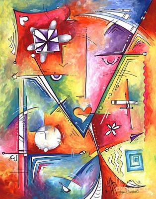 Original Abstract Enlightenment Symbolic Limited Edition Prints Original Painting By Megan Duncanson Original
