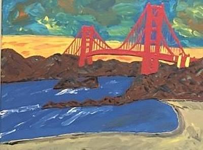 Painting - Original Acrylic Painting On Canvas. by Jonathon Hansen