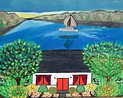 Painting - Original Acrylic Painting On Canvas. Wall Art. California Painting. by Jonathon Hansen