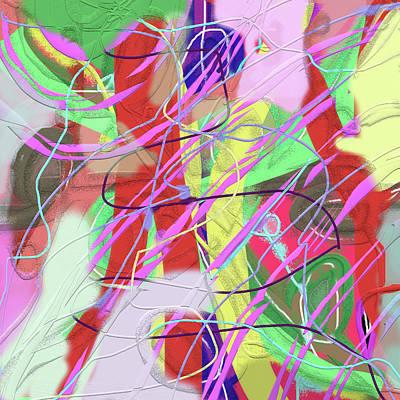 Digital Digital Art - Original Bouquet by SC Heffner