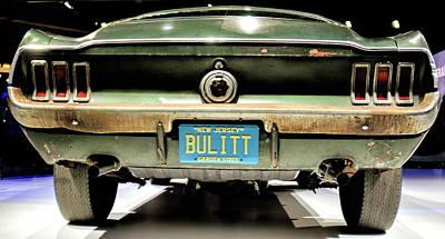 Photograph - Original Bulitt Mustang by Randy J Heath
