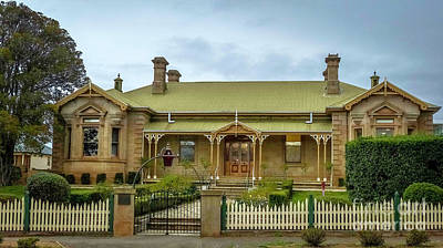 Original Campbell Town Hospital Tasmania Print by Teresa A and Preston S Cole Photography
