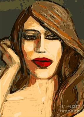 Original Digital Painting Art Print by Larry Lamb