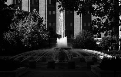 Original Fountain Art Print