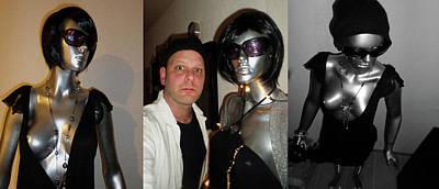 Sculpture - Original Mannequin Lifelike Statue From 1970 Unique For Sale by Sir Josef - Social Critic -  Maha Art