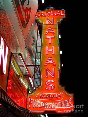 Photograph - Original Nathans by Ed Weidman