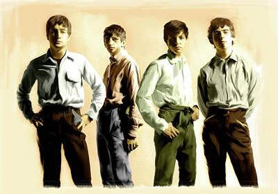 Original Punk The Beatles Original by Iconic Images Art Gallery David Pucciarelli