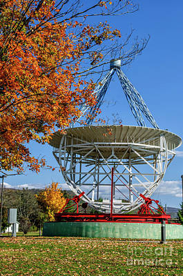 Photograph - Original Radio Telescope by Thomas R Fletcher
