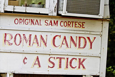 Roman Candy Cart Photograph - Original Roman Candy by Scott Pellegrin