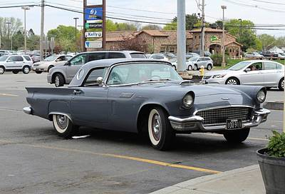 Photograph - Original T-bird by Paul Meinerth