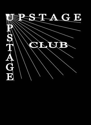 Bruce Springsteen Photograph - Original Upstage Club Logo In Black by Carrie Potter-Devening