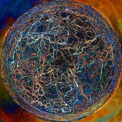Digital Art - Origins by Stephanie Grant