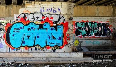 Orin        ' Graffiti ' Art Print by Urban Artful