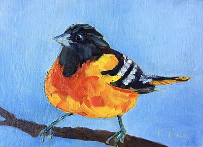 Painting - Oriole by Chris Rice