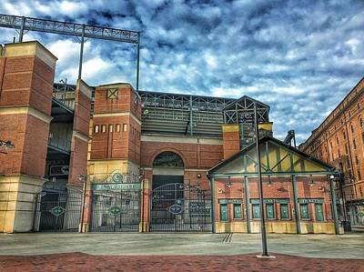 Baltimore Orioles Photograph - Oriole Park At Camden Yards Gate by Marianna Mills
