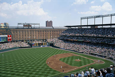 Orioles Park. Kansas City Royals Art Print by Brian Gordon Green