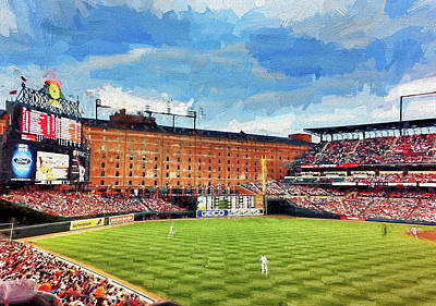Photograph - Orioles Stadiun by Reynaldo Williams