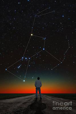 Photograph - Orion And Stargazer by Larry Landolfi