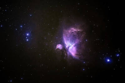 Photograph - Orion Nebula 17-01-21 by James Billings