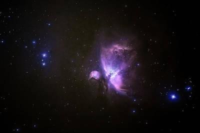 Photograph - Orion Nebula 17-01-21 by James Billings