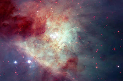 Outer Space Photograph - Orion Nebula 2 by Mark Kiver
