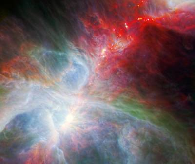 Orion Nebula Art Print by American School