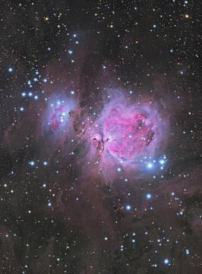 Photograph - Orion Nebula by Dennis Sprinkle