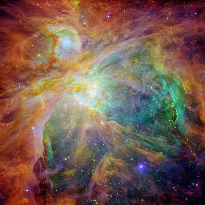 Hubble Space Telescope Photograph - Orion Nebula by Mark Kiver