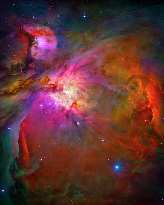 Photograph - Orion Nebula by Paul W Faust - Impressions of Light