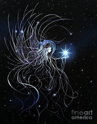 Orions Angel Art Print by Pauline Ross