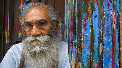 Paint Photograph - Orizaba Painter by Skip Hunt