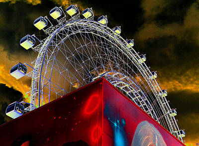 Photograph - Orlando Eye And Sky by David Lee Thompson