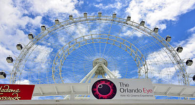 Photograph - Orlando Eye Pano by David Lee Thompson