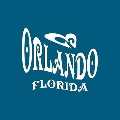 Mixed Media - Orlando Florida Design by Art America Gallery Peter Potter